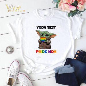 LGBT Baby Yoda Best Pride Mom shirt sweater