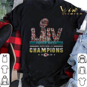 LIV Super Bowl Champions IV Kansas City Chiefs shirt sweater 1