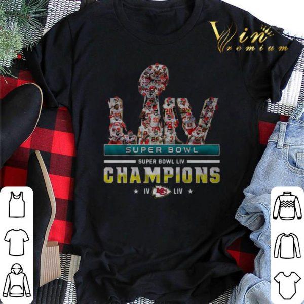 LIV Super Bowl Champions IV Kansas City Chiefs shirt sweater