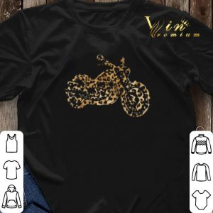 Leopard Motorcycle shirt sweater 2