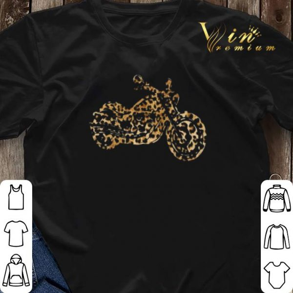Leopard Motorcycle shirt sweater