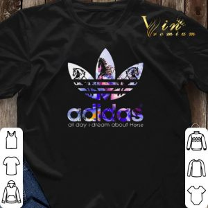 Logo adidas all day i dream about Horse shirt sweater 2