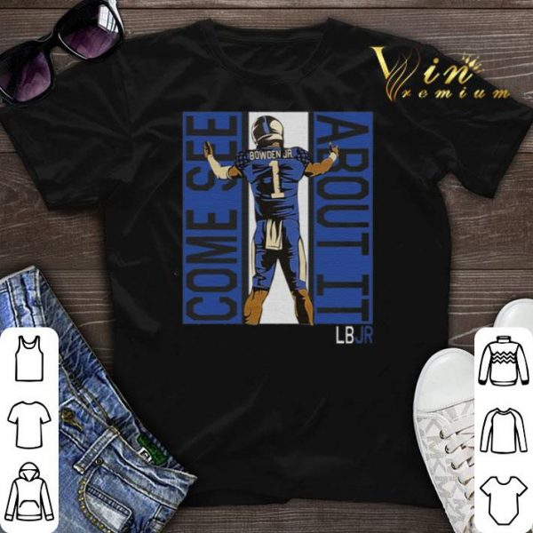 Lynn Bowden Jr. 1 Come See About It LBJR shirt sweater