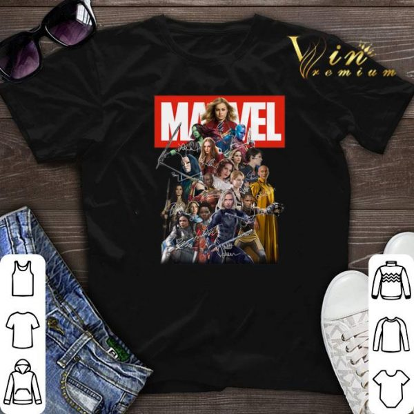 Marvel Avengers Woman MCU Signatures shirt sweater