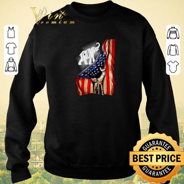 Nice Donald Trump Elephant American signature shirt sweater