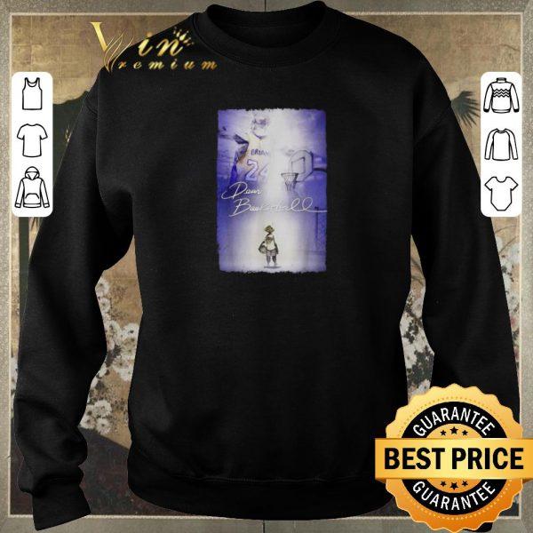 Nice Rip Kobe Bryant Dear Basketball signature shirt sweater