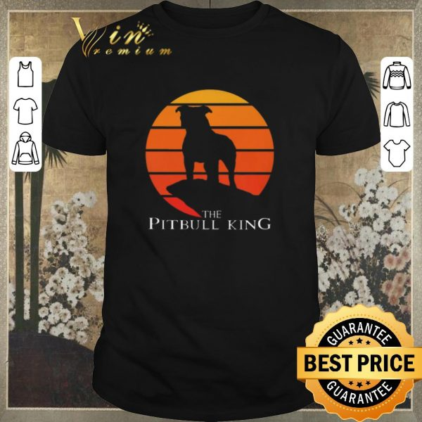Nice The Pitbull King The Lion King Sunset shirt sweater