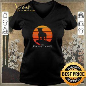Nice The Pitbull King The Lion King Sunset shirt sweater 1