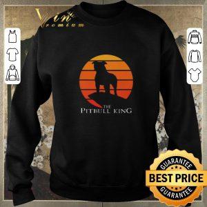 Nice The Pitbull King The Lion King Sunset shirt sweater 2