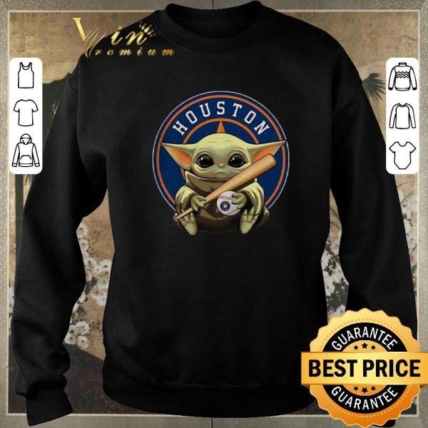 Official Baby Yoda Houston Astros Baseball Logo shirt sweater