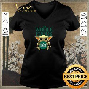 Official Baby Yoda Hug Whole Foods Market Star Wars shirt sweater 1