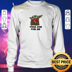 Official Baby Yoda one for me Star Wars shirt sweater 2