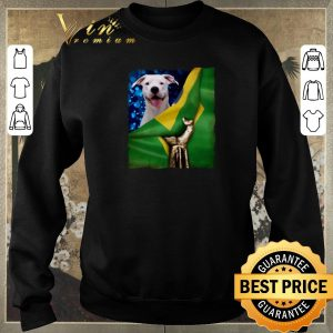 Official Bandeira do Brasil Dogo Argentino shirt sweater 2