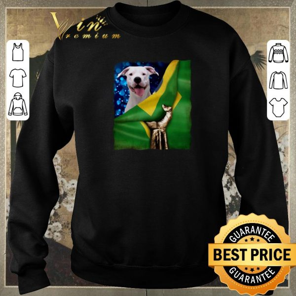 Official Bandeira do Brasil Dogo Argentino shirt sweater