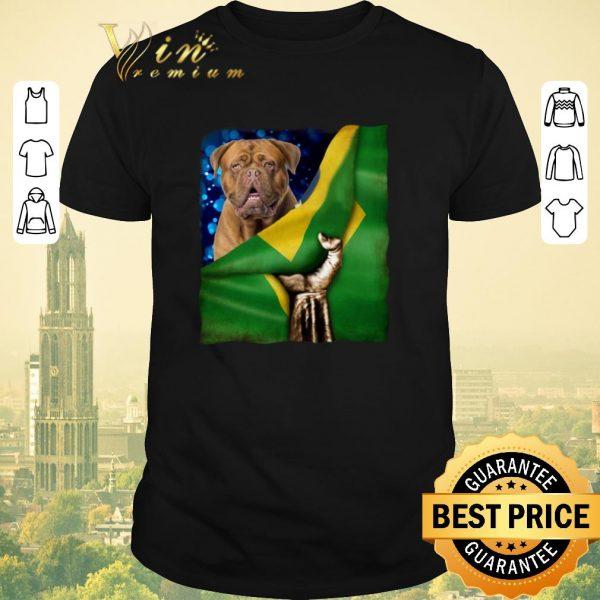 Official Bandeira do Brasil Dogue de Bordeaux shirt sweater