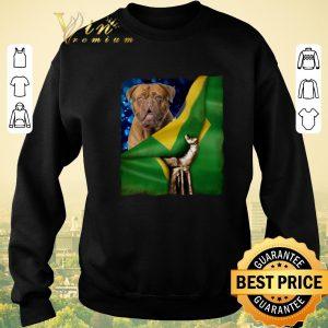 Official Bandeira do Brasil Dogue de Bordeaux shirt sweater 2