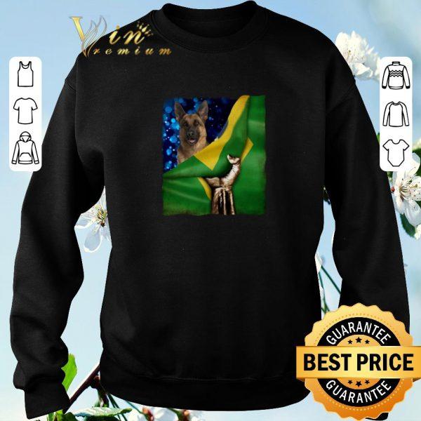 Official Bandeira do Brasil German Shepherd shirt sweater