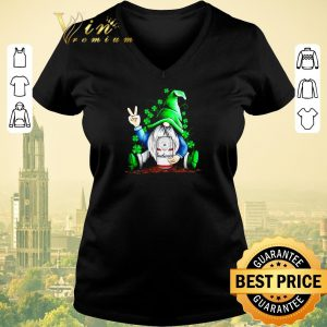 Official Gnomes Hug Budweiser St. Patrick's Day shirt sweater 1