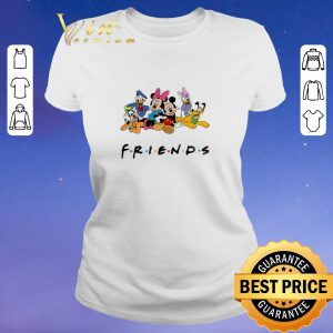Official Group Of Disney Characters Friends shirt sweater 1