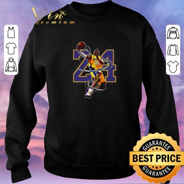 Official Legend RIP Kobe Bryant 24 NBA The Black Mamba shirt sweater
