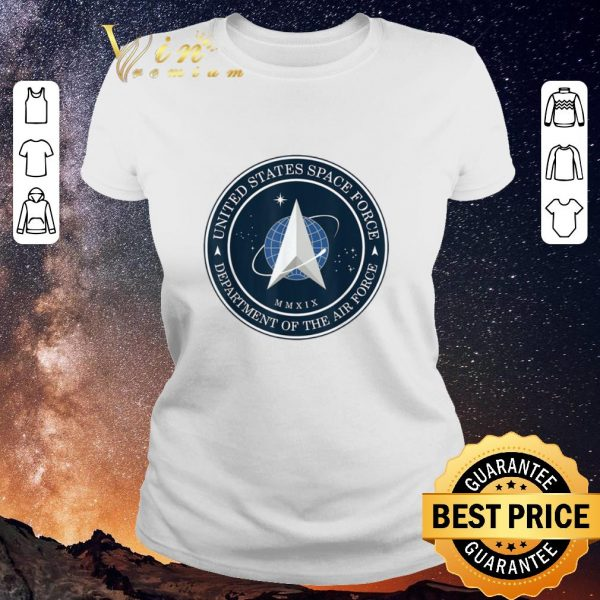 Official United States Space Force Department Of The Air Force shirt sweater
