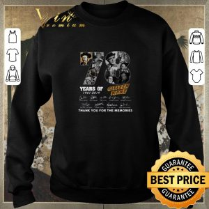 Original 78 Years Citizen Kane Thank You For The Memories shirt 2