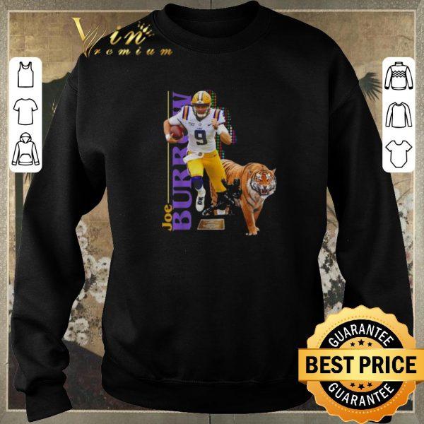 Original 9 Joe Burrow LSU Tigers shirt sweater