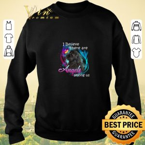 Original American Cocker Spaniel I believe there are angels among us shirt 2