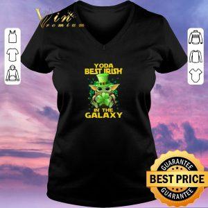 Original Baby Yoda Best Irish In The Galaxy St. Patrick's day shirt sweater 1