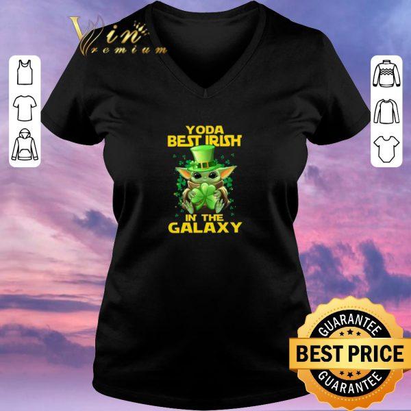 Original Baby Yoda Best Irish In The Galaxy St. Patrick's day shirt sweater