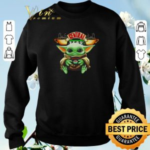 Original Baby Yoda hug Central Perk Friends shirt sweater 2