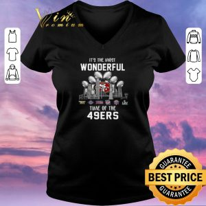 Original It's The Most Wonderful Time Champion Of The San Francisco 49ers shirt sweater 1