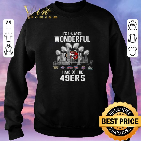 Original It's The Most Wonderful Time Champion Of The San Francisco 49ers shirt sweater