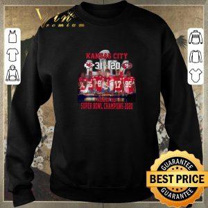 Original Kansas City 31 20 49ers home of the Super Bowl champions 2020 shirt sweater 2