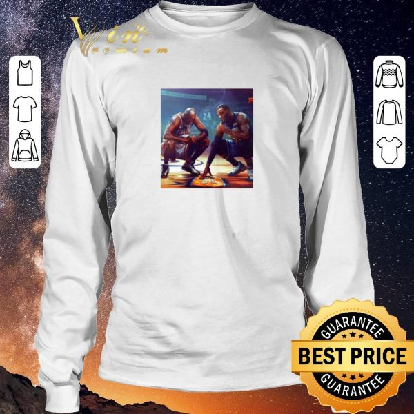 Original Michael Jordan Lebron James RIP Kobe Bryant shirt sweater