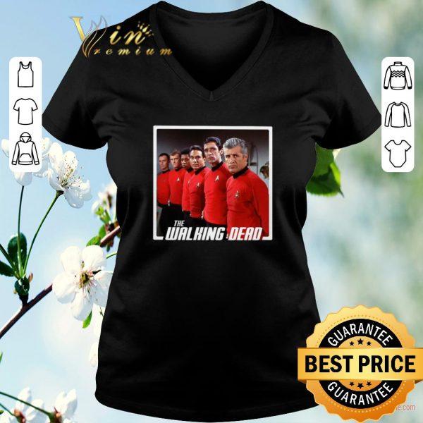 Original Star Trek Mashup The Walking Dead shirt sweater