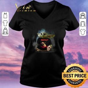 Premium Baby Yoda mashup Jason Voorhees Friday the 13th shirt sweater