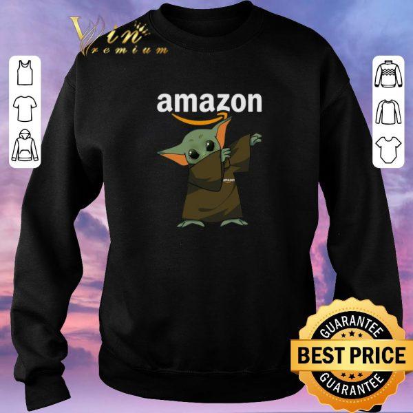 Premium Dabbing Baby Yoda Mashup Amazon Star Wars shirt sweater