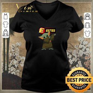 Premium Dabbing Baby Yoda Mashup Estes Express Lines Star Wars shirt sweater 1