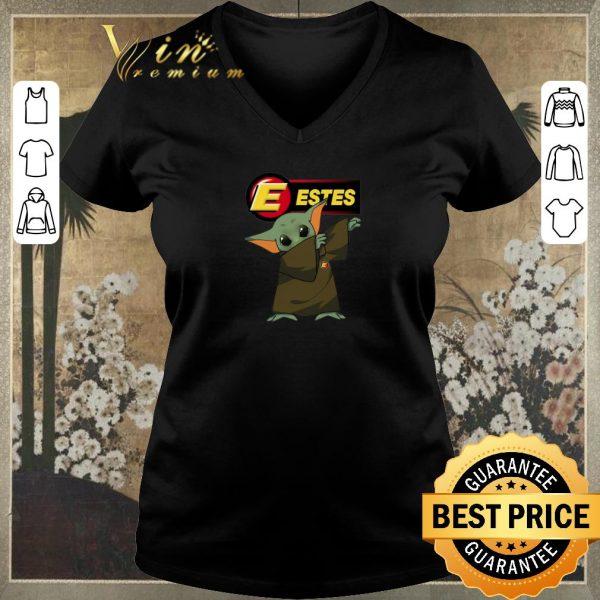 Premium Dabbing Baby Yoda Mashup Estes Express Lines Star Wars shirt sweater