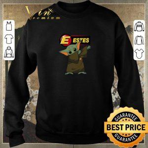 Premium Dabbing Baby Yoda Mashup Estes Express Lines Star Wars shirt sweater 2
