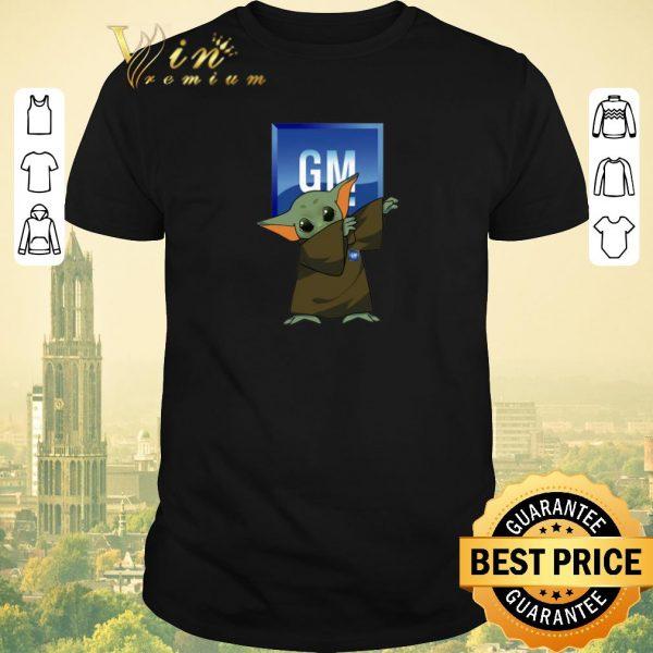 Premium Dabbing Baby Yoda Mashup General Motors Star Wars shirt sweater