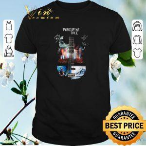 Premium Porcupine Tree guitar signatures shirt sweater