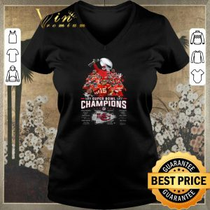 Premium Super Bowl LIV Champions signatures Kansas City Chiefs shirt sweater