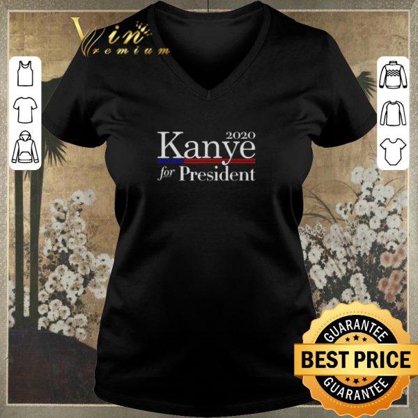 Pretty 2020 Kanye for president shirt sweater