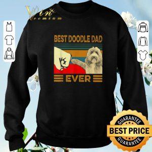 Pretty Best Doodle Dad Ever Vintage shirt sweater 2