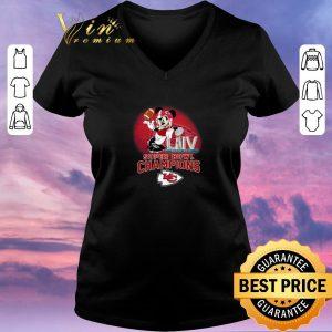 Pretty Mickey Mouse mashup Kansas City Chiefs Super Bowl LIV Champions shirt sweater 1