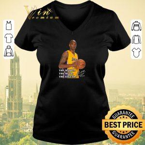Pretty RIP Kobe Bryant The Mamba The Myth The Legend Signature shirt sweater