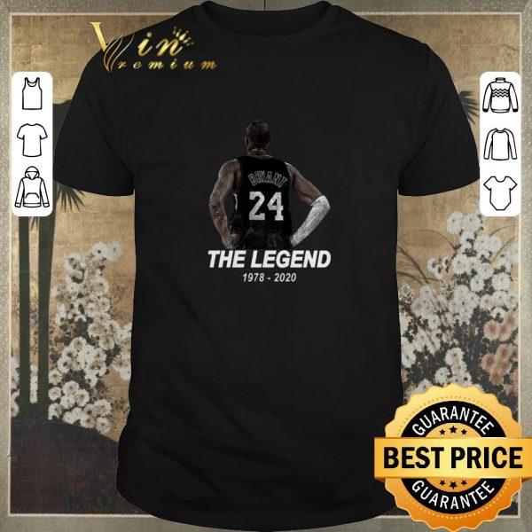 Pretty Rest In Peace Bryant 24 The Legend 1978 2020 Kobe Bryant RIP shirt sweater