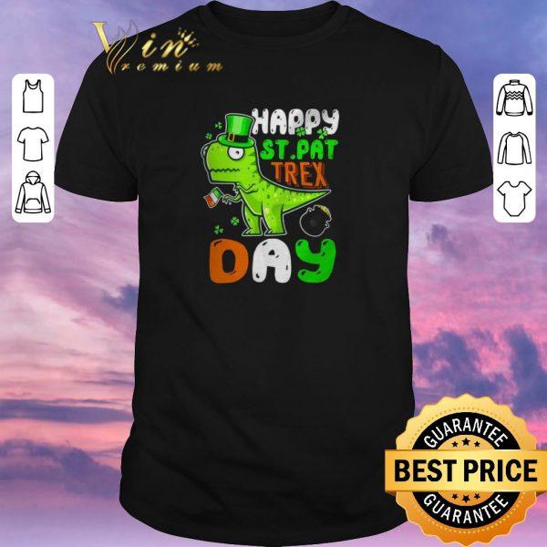 Pretty St. Patrick's Day happy St. Pat trex day shirt sweater